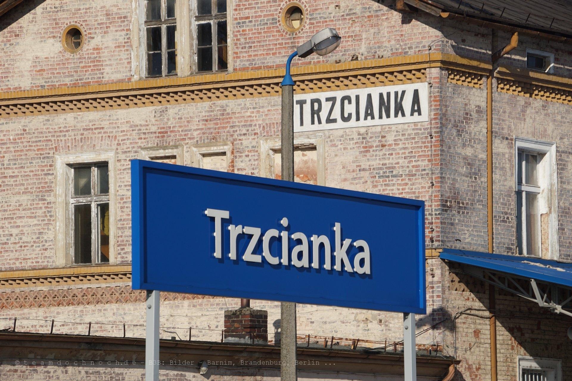 Bahnhof Trzcianka