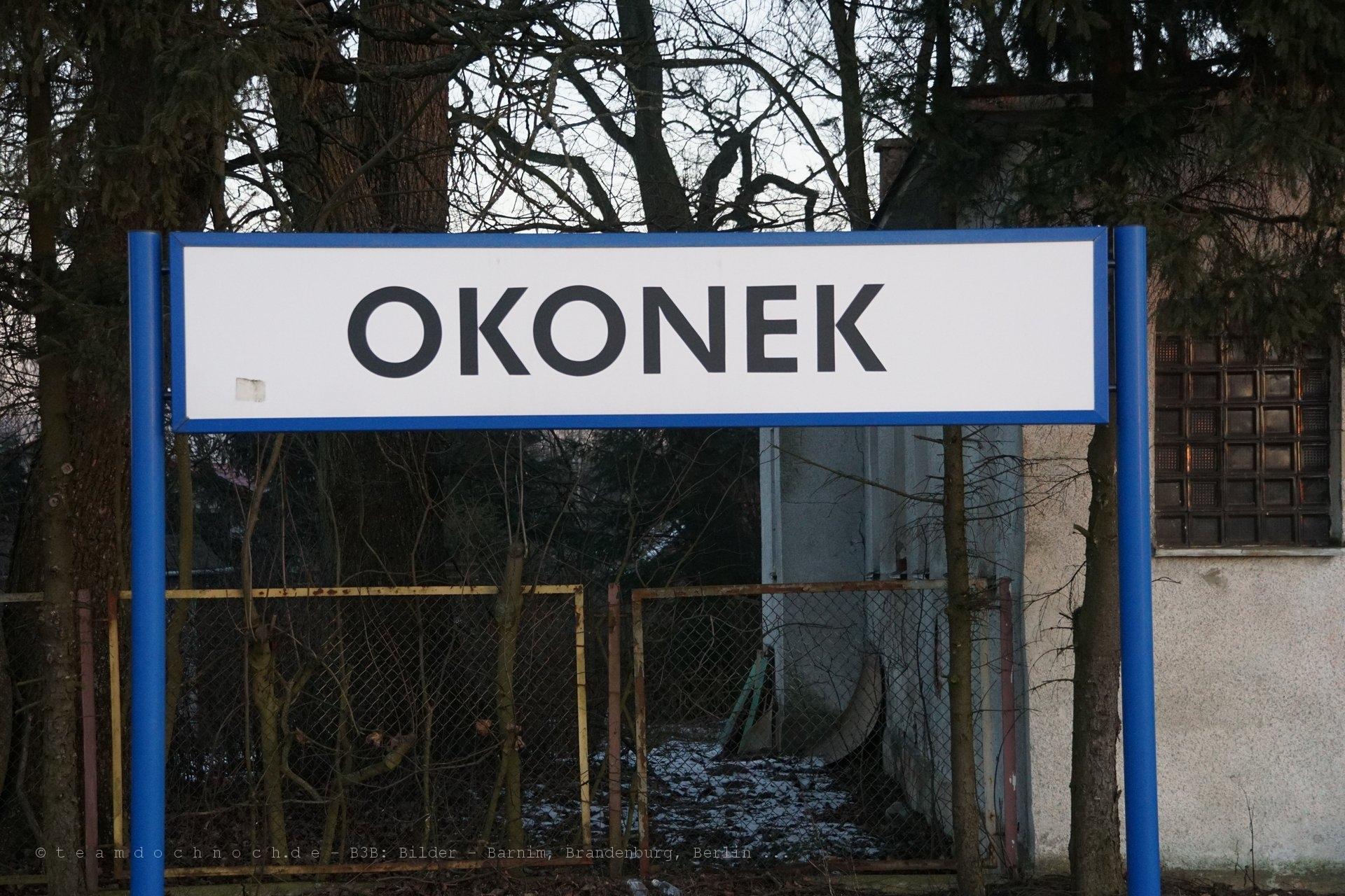 Bahnhof Okonek