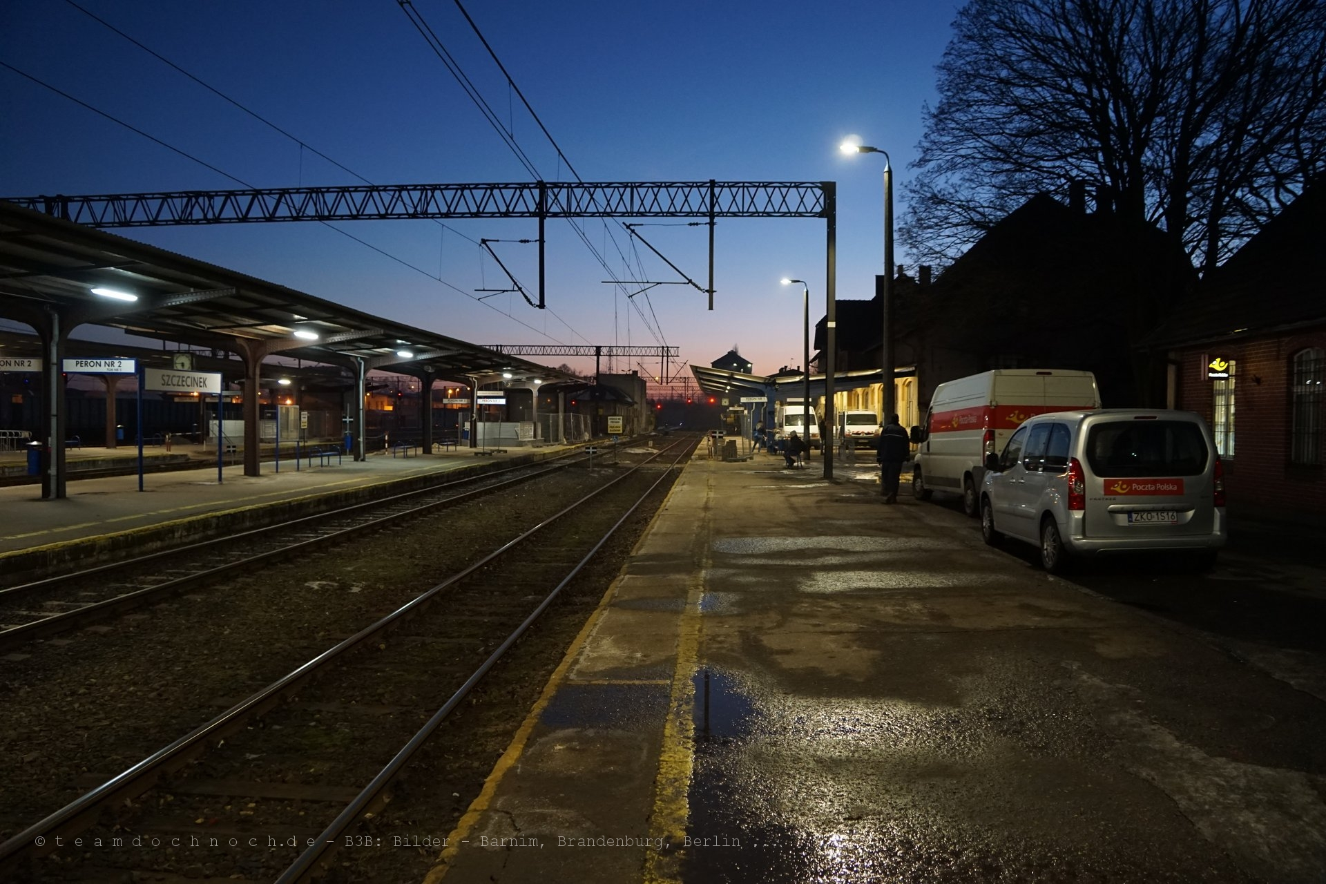 Bahnhof von Szczecinek