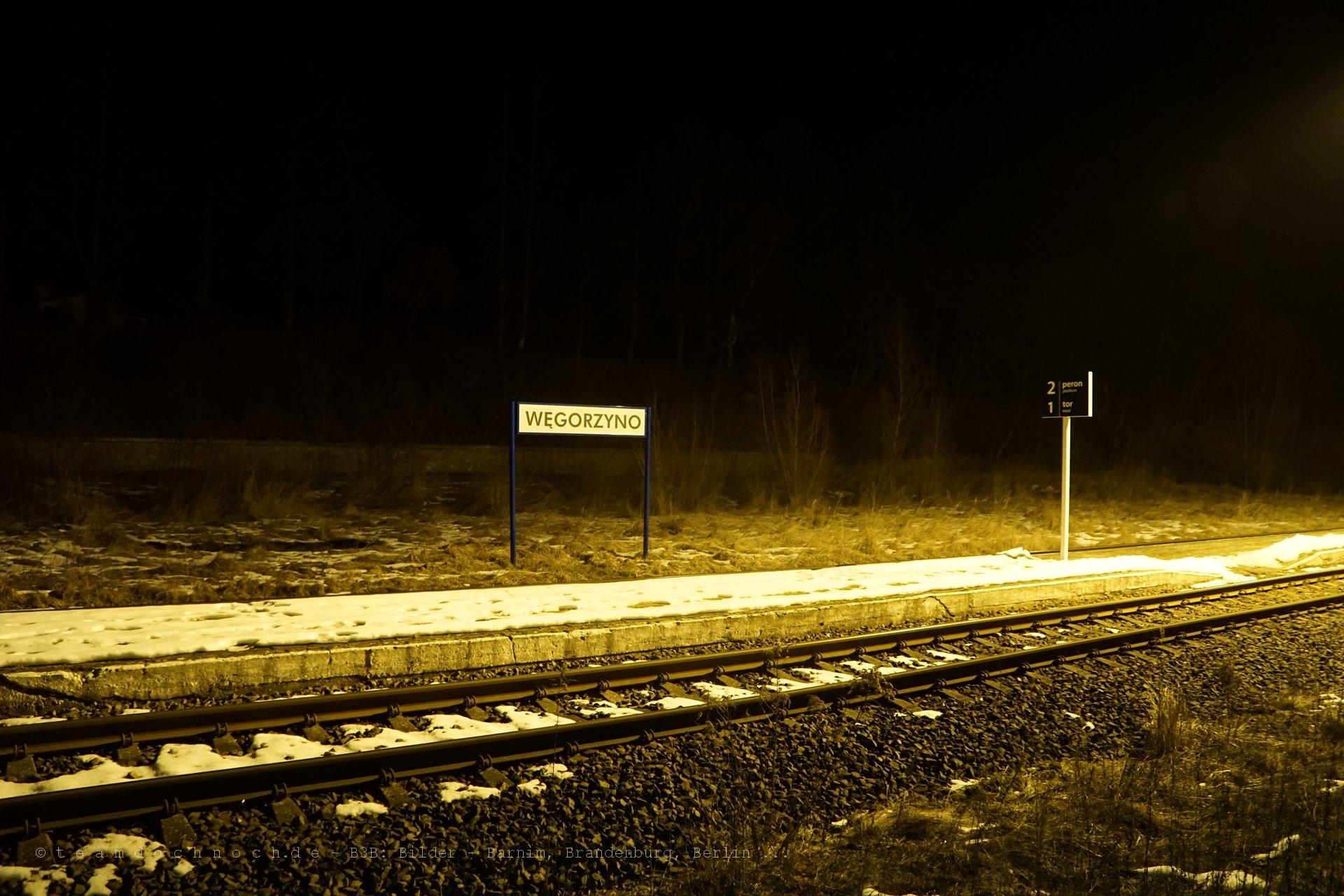 Bahnhof Węgorzyno