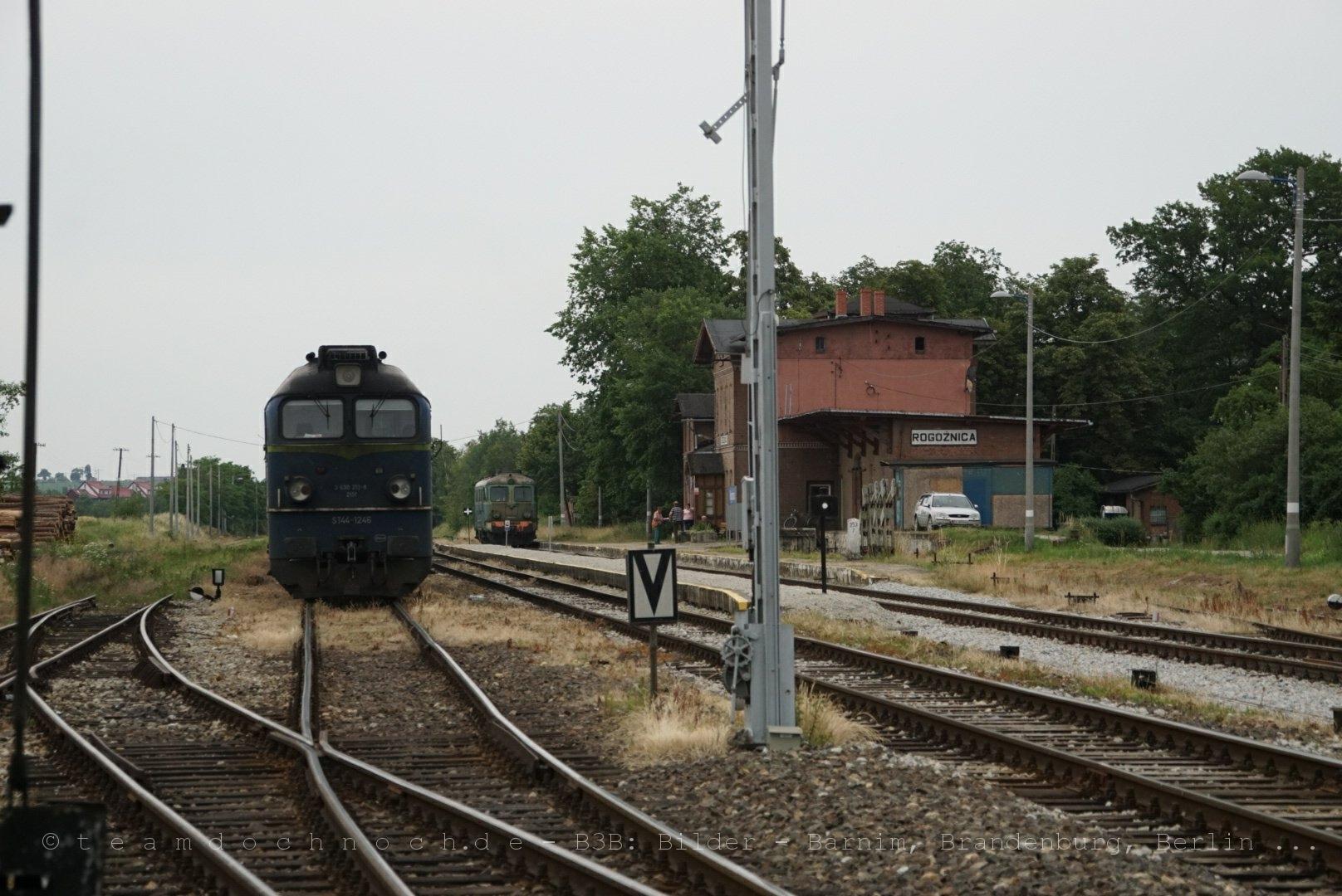 ST44 1246 und ST43 334 in Rogoznica