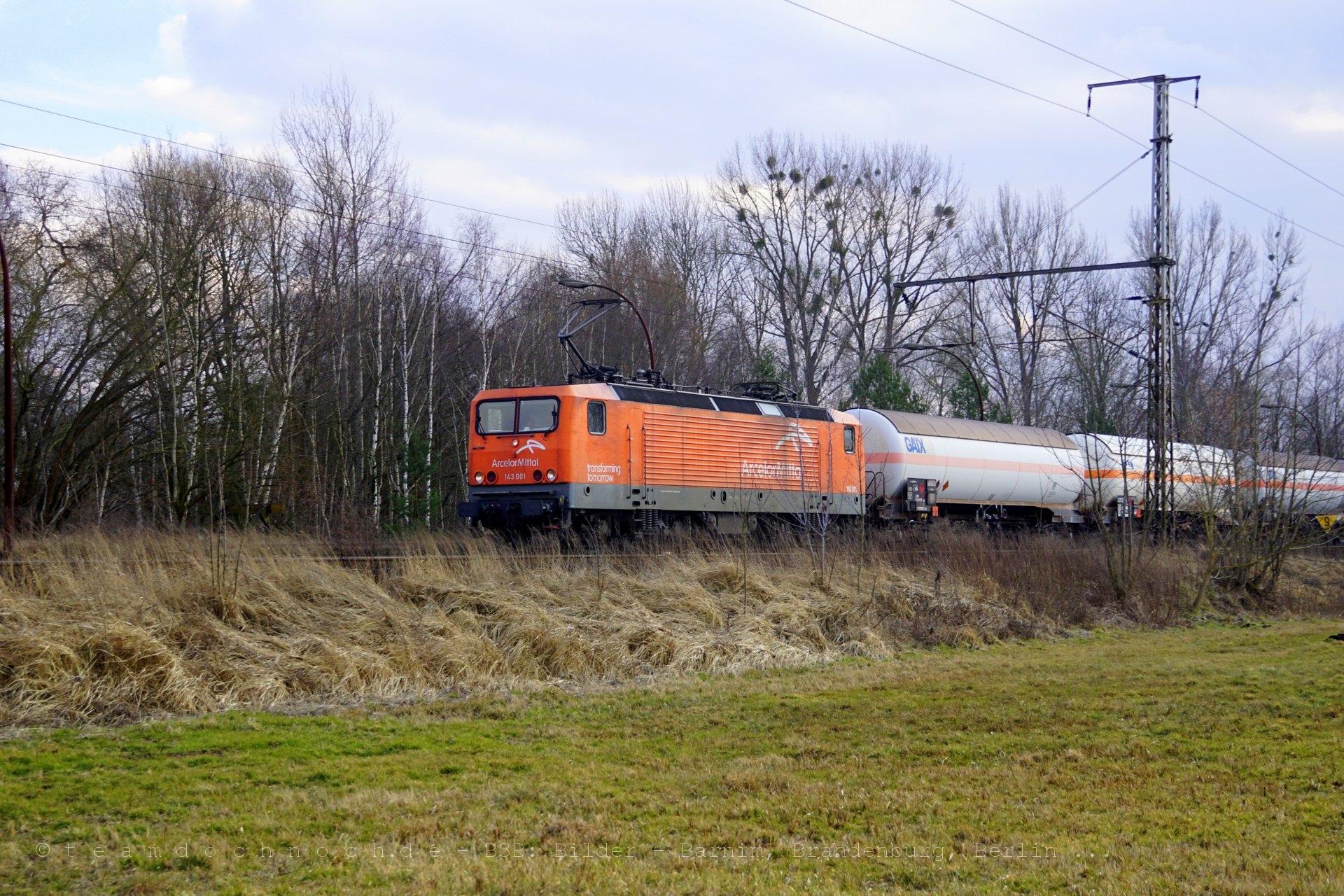 ARCELOR 143 001 in Bernau