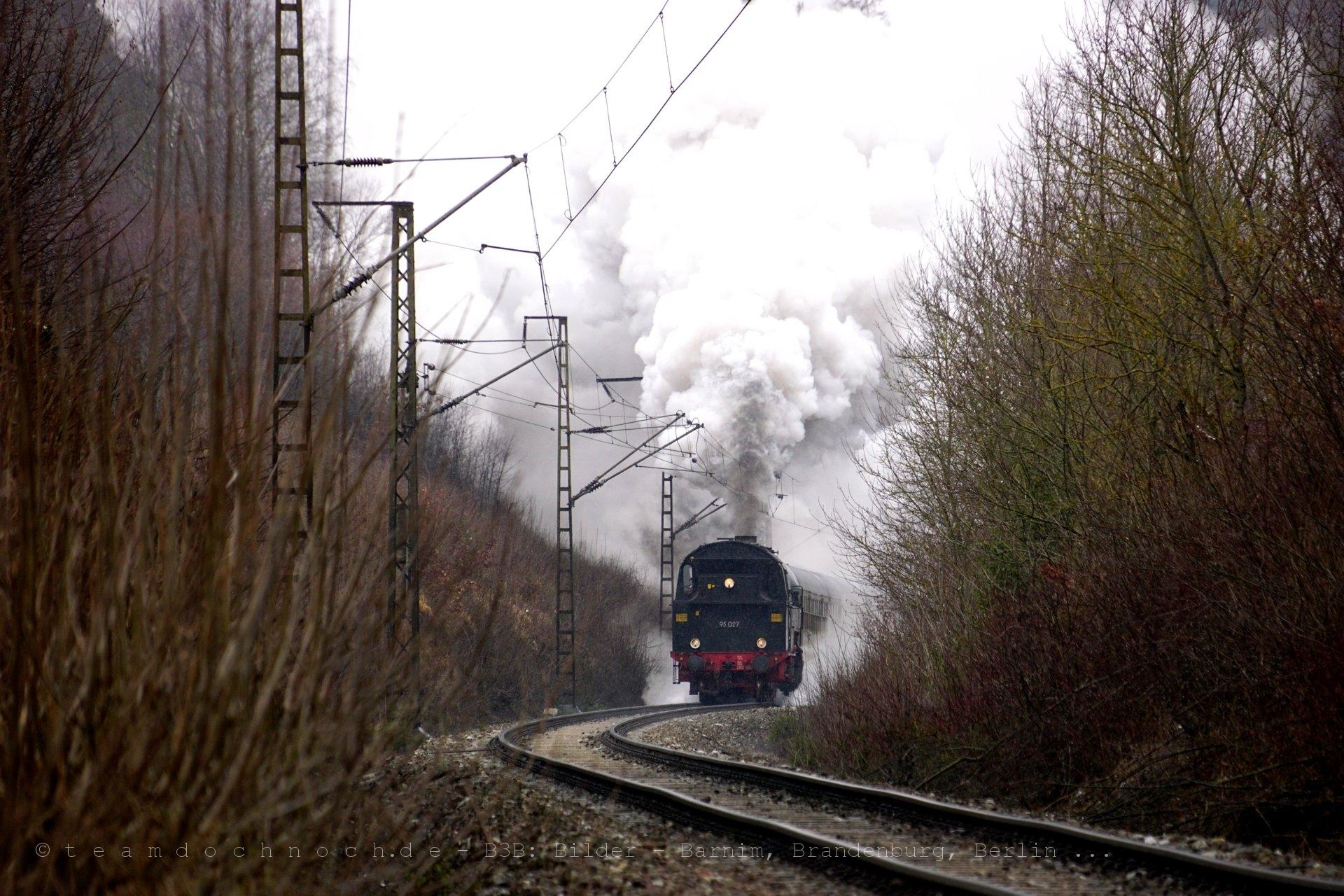 95 027 kurz nach Verlassen des Tunnel Krumme Grube