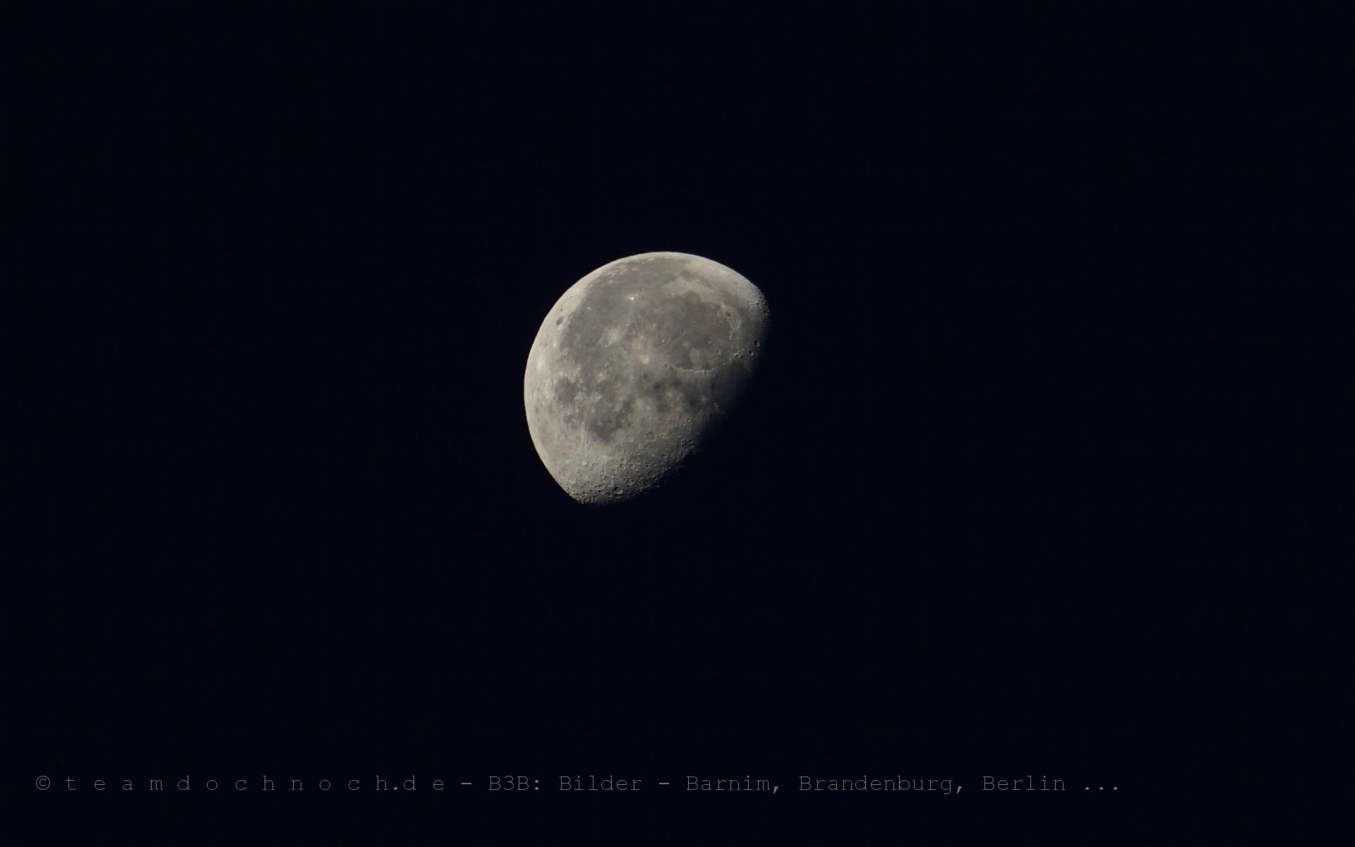 Ein Mond am Morgen
