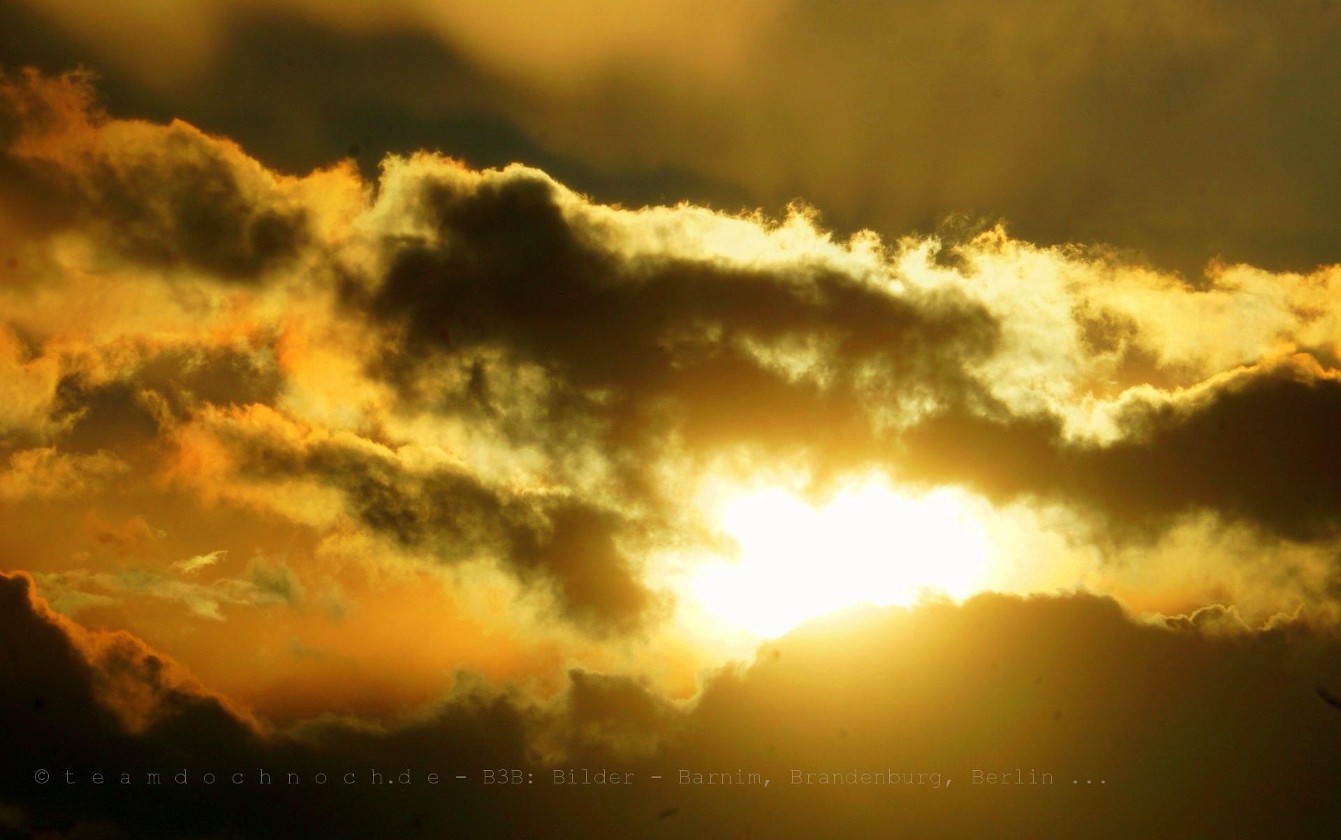 Die Sonne kommt raus