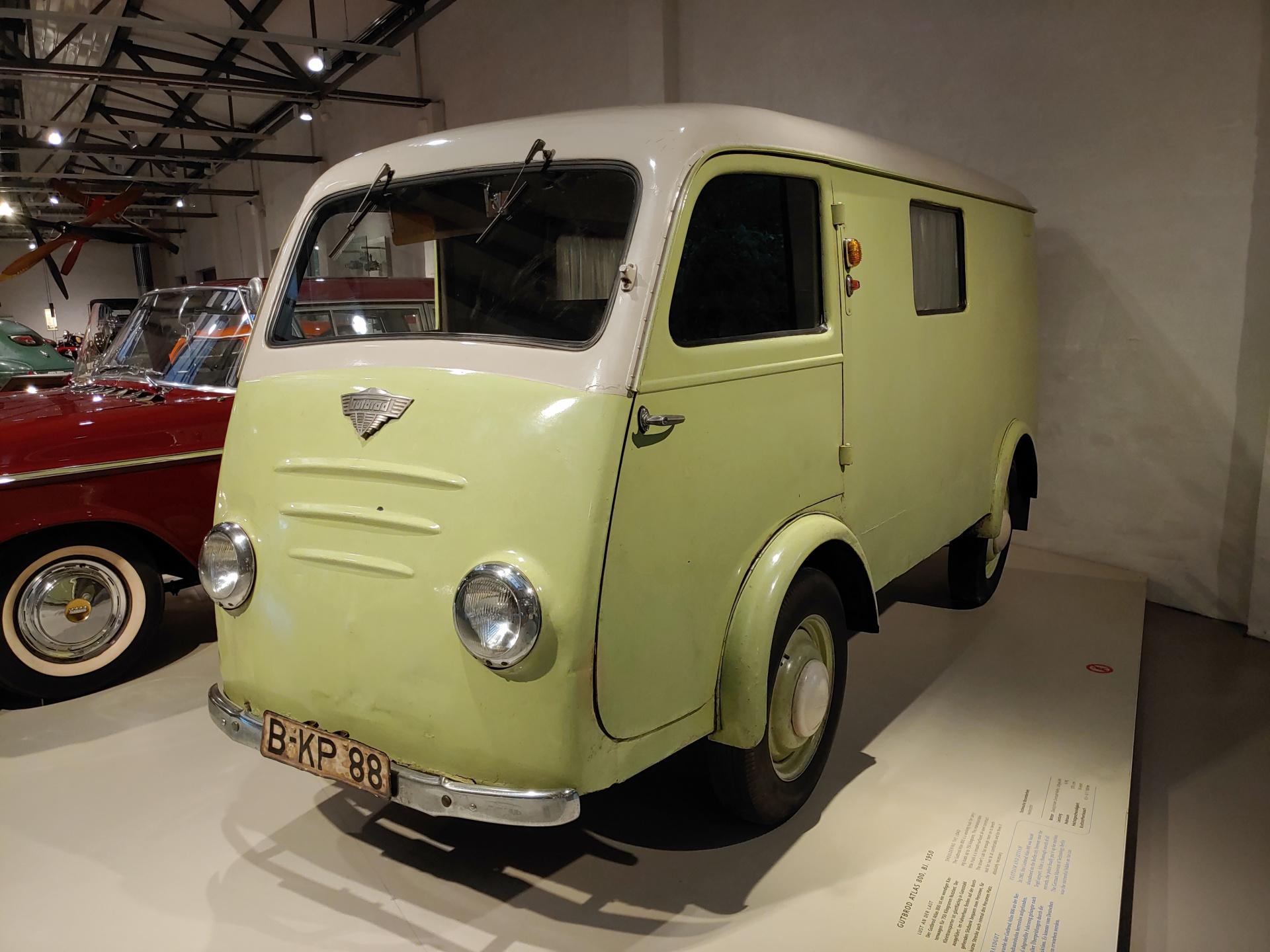 Kastenwagen Gutbrod Atlas 800 von 1950