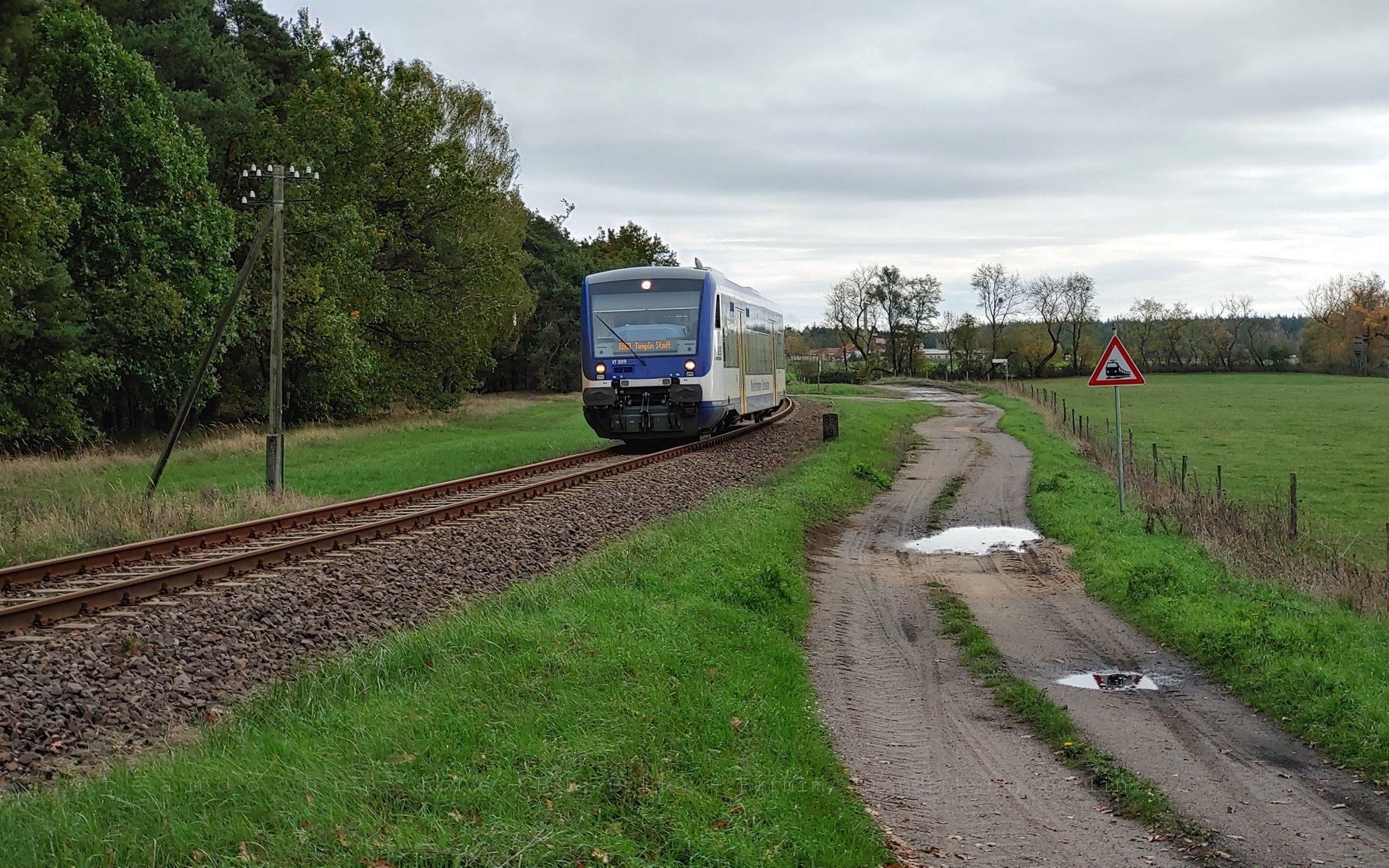 VT009 auf dem Weg nach Templin