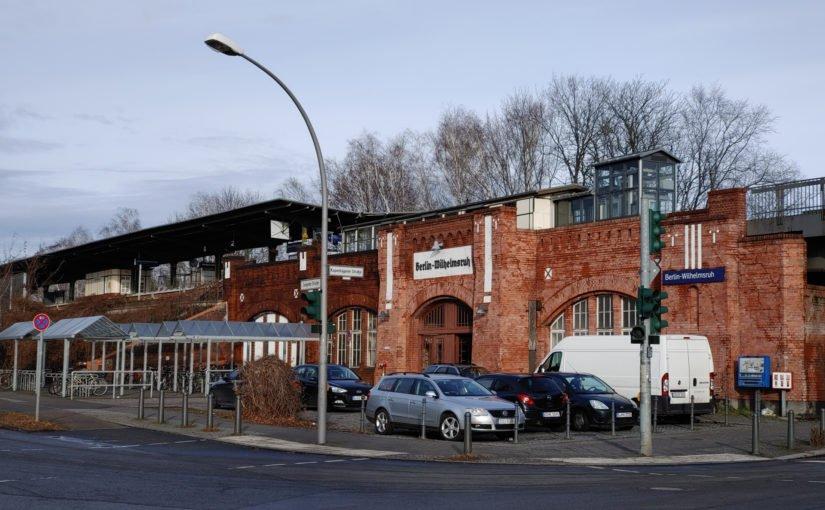 Bhf. Berlin Wilhelmsruh von der Südwestseite