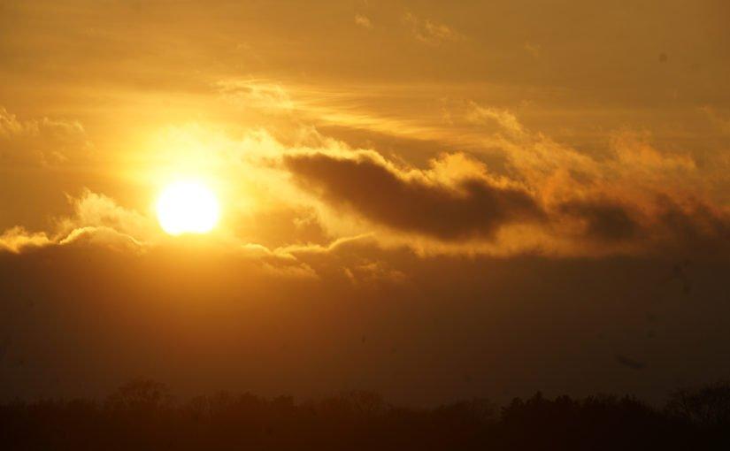 Sonne im Oberbarnim