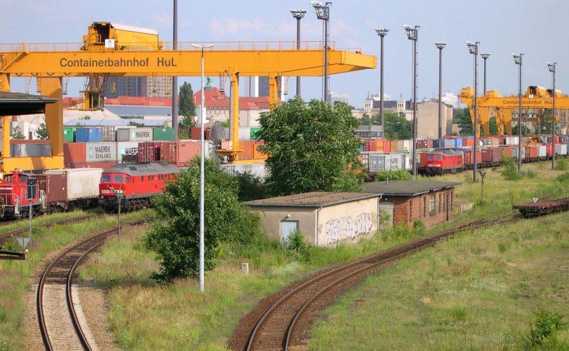 Containerbahnhof Berlin HuL