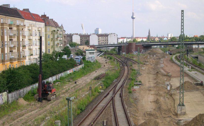 Gleisbauarbeiten S- und Fernbahn