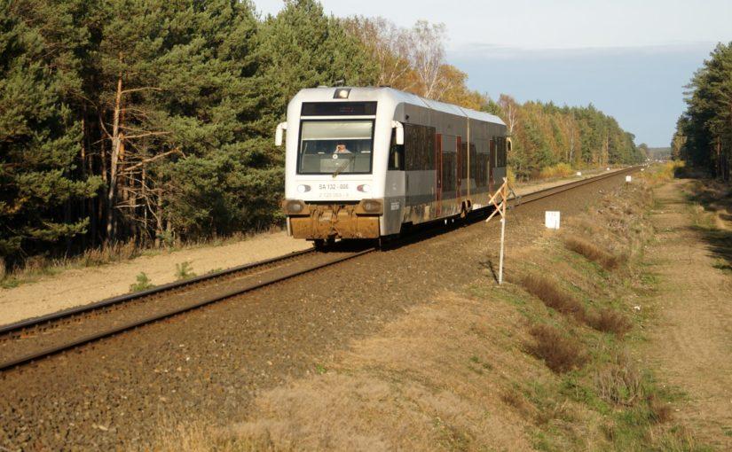 SA 132 – 006 auf dem Weg nach Piła