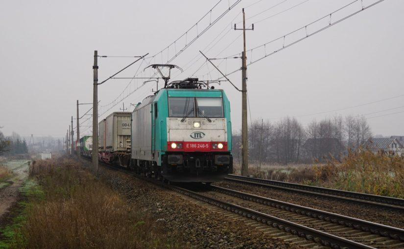 ITL E 186 246-5 bei Zbąszyń
