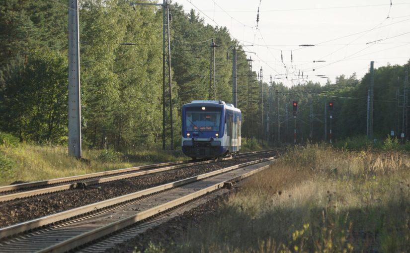 VT 017 als RB63 nach Templin Stadt