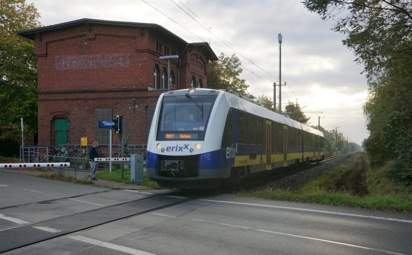 erixx 622 710 im Bahnhof Stederdorf