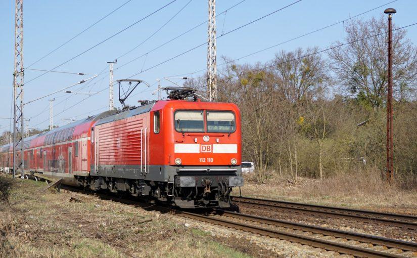 112 110 als RE3 nach Lutherstadt Wittenberg