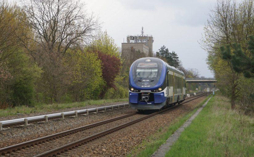 PESA Link der NEB bei Strausberg