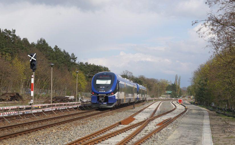 Doppeltraktion PESA Link auf dem Weg nach Kostrzyn