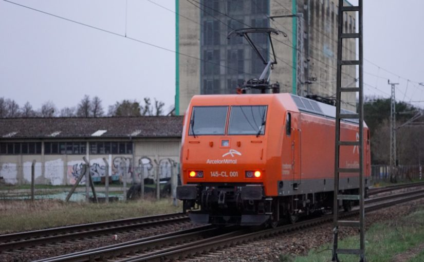 ArcelorMittal 145-CL 001 als Notschuß