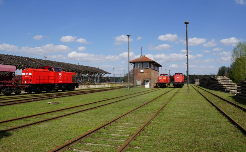WFL 203 117-7 in Neustrelitz Süd