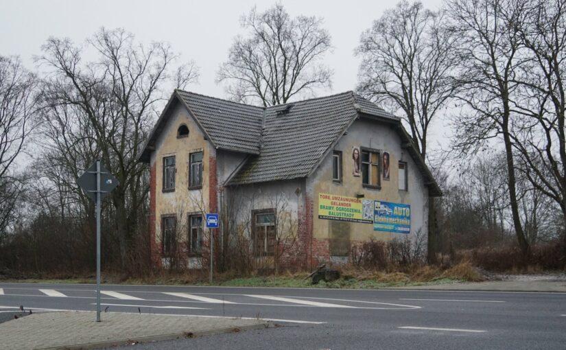 an der B1 in Küstrin-Kietz