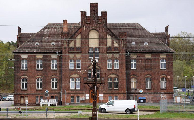 Verwaltungsgebäude Wustermark Rangierbahnhof