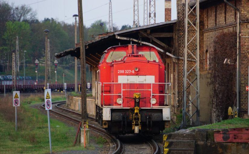 298 327-8 der DB AG in Eberswalde