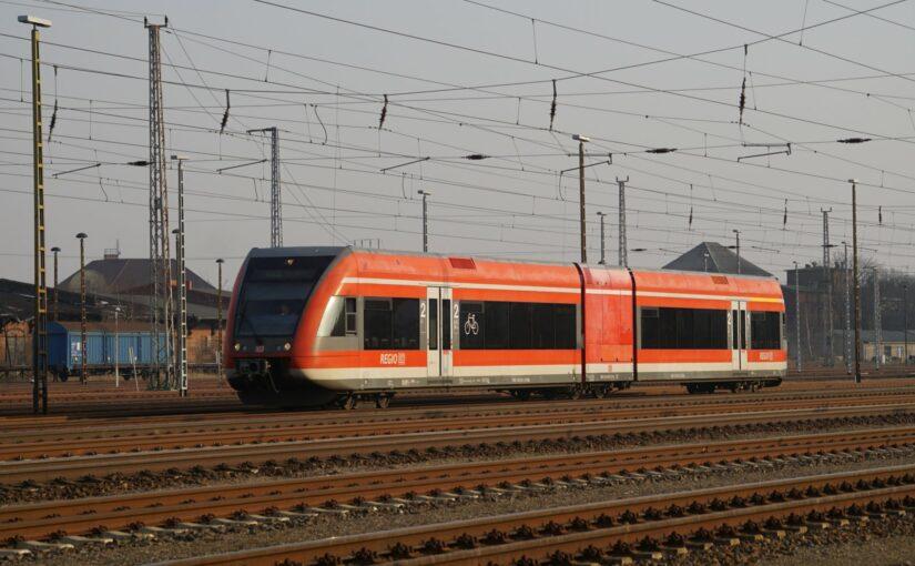 GTW 2/6 646 002-5 rangiert in Angermünde