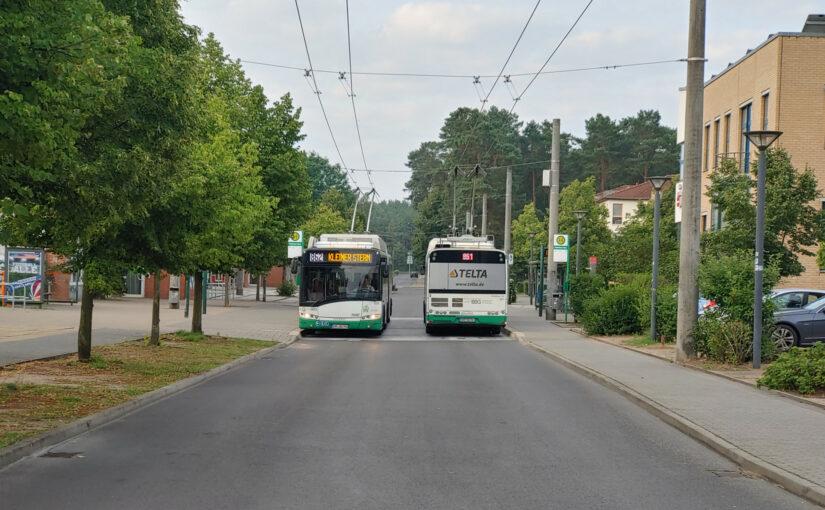 Eberswalde, die Stadt mit dem Obus