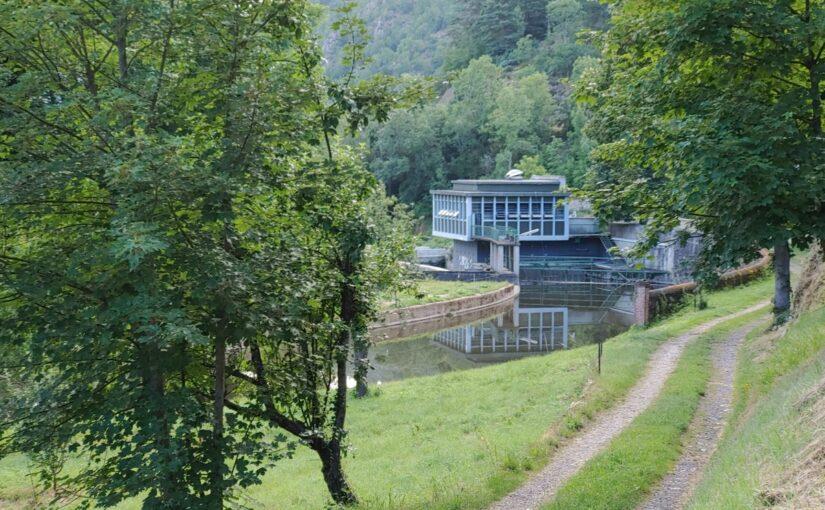 centrale hydroélectrique Retournac
