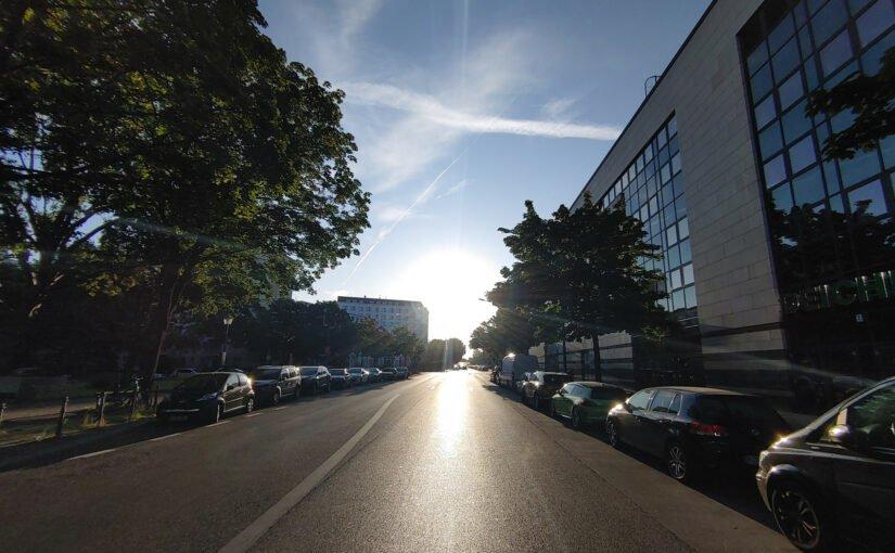 Sonntagmorgen auf der Behmstraße
