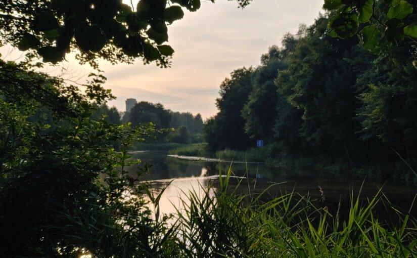 Ein Sommermorgen am Finowkanal